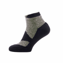 SealSkinz Walking Thin Socklet - Olive Marl/Charcoal