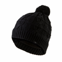 SealSkinz Waterproof Cable Knit Bobble Hat - Black