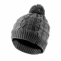 SealSkinz Waterproof Cable Knit Bobble Hat - Grey