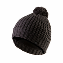 SealSkinz Waterproof Waffle Knit Bobble Hat - Grey