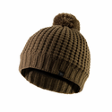 SealSkinz Waterproof Waffle Knit Bobble Hat - Olive