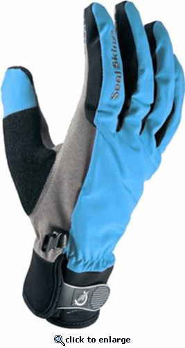 SealSkinz 2017 Women's All Season Waterproof Gloves Sky Blue/Black