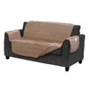 Serta Microsuede Diamond Quilted Electric Warming Love Seat Protector