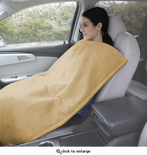 Serta Wellrest 12V 3-in-1 Heated Travel Blanket