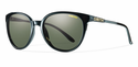 Smith Archive Cheetah Sunglasses Black Carbonic Polarized Gray Green