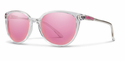 Smith Archive Cheetah Sunglasses Crystal Carbonic Pink Mirror