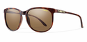Smith Archive Mt. Shasta Sunglasses Matte Tortoise Carbonic Polarized Brown