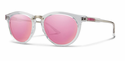 Smith Archive Questa Sunglasses Crystal Carbonic Pink Mirror