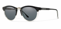 Smith Archive Questa Sunglasses Matte Black Crystal Carbonic Polarized Gray
