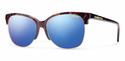 Smith Archive Rebel Sunglasses Flecked Blue Tortoise Carbonic Blue Flash Mirror
