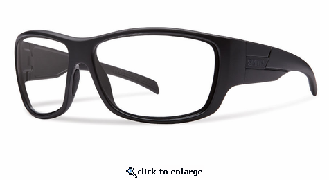 Smith Elite Frontman Elite Sunglasses Black Carbonic Elite Ballistic Clear