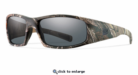 Smith Elite Hideout Elite Sunglasses Realtree AP Carbonic Elite Ballistic Gray