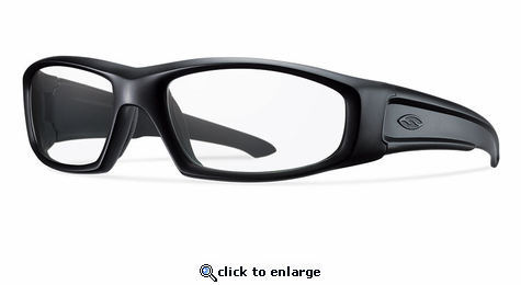 Smith Elite Hudson Elite Sunglasses Black Carbonic Elite Ballistic Clear