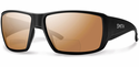 Smith Guides Choice Bifocal Sunglasses Matte Black Carbonic Polarized Copper Mirror 2.00