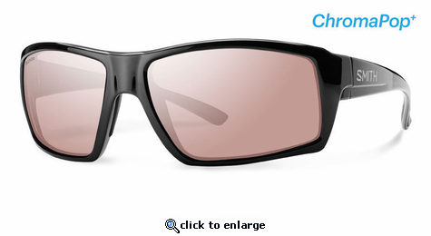 Smith Lifestyle Challis Sunglasses Matte Black Chromapop+ Polarchromic Ignitor
