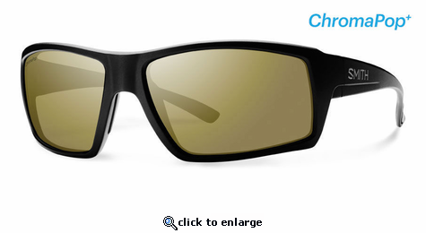 375dd5736a Smith Lifestyle Challis Sunglasses Matte Black Chromapop+ Polarized Bronze  Mirror