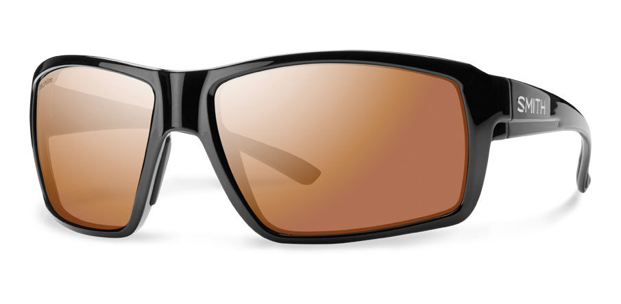 e3f1cc0766e Smith Lifestyle Colson Sunglasses Black Techlite Glass Polarchromic Copper  Mirror - The Warming Store
