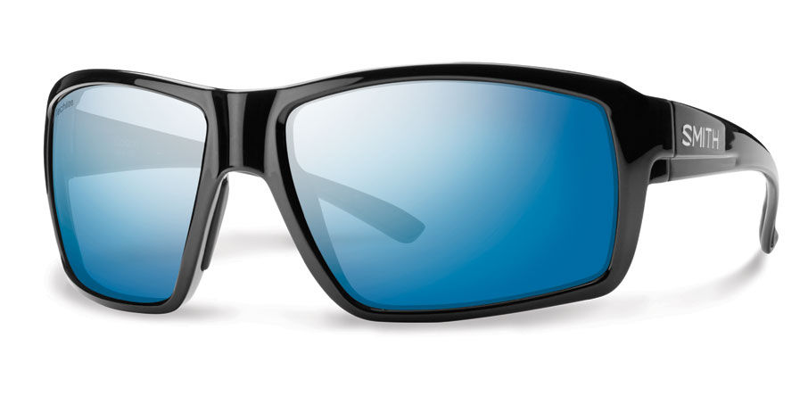 814f8d5246 Smith Lifestyle Colson Sunglasses Black Techlite Glass Polarized Blue Mirror  - The Warming Store