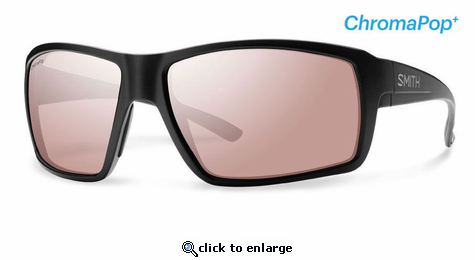 Smith Lifestyle Colson Sunglasses Matte Black Chromapop+ Polarchromic Ignitor