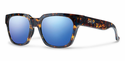 Smith Lifestyle Comstock Sunglasses Flecked Blue Tortoise Carbonic Blue Flash Mirror