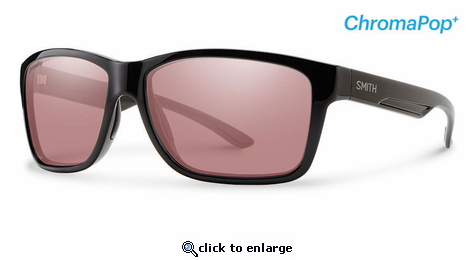 Smith Lifestyle Drake Sunglasses Black Chromapop+ Polarchromic Ignitor