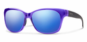 Smith Lifestyle Feature Sunglasses Crystal Ultraviolet Carbonic Blue Flash Mirror
