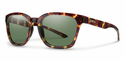 Smith Lifestyle Founder Sunglasses Tortoise Carbonic Polarized Gray Green
