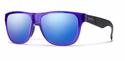 Smith Lifestyle Lowdown Slim Sunglasses Crystal Ultraviolet Carbonic Blue Flash Mirror