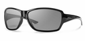 Smith Lifestyle Pace Sunglasses Black Carbonic Polarized Gray