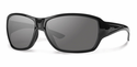 Smith Lifestyle Purist Sunglasses Black Carbonic Polarized Gray