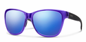 Smith Lifestyle Ramona Sunglasses Crystal Ultraviolet Carbonic Blue Flash Mirror