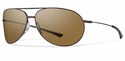 Smith Lifestyle Rockford Sunglasses Matte Brown Carbonic Polarized Brown