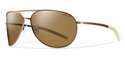 Smith Lifestyle Serpico Slim Sunglasses Matte Desert Carbonic Polarlzed Brown (DISCONTINUED)