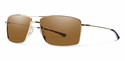 Smith Lifestyle Turner Sunglasses Gold Carbonic Brown