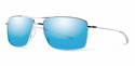 Smith Lifestyle Turner Sunglasses Gunmetal Carbonic Blue Sol-X Mirror