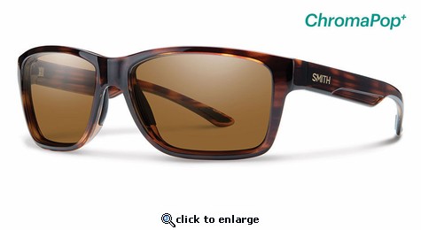 Smith Lifestyle Wolcott Sunglasses Tortoise Chromapop+ Polarized Brown