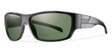 Smith Lifestyle Frontman Sunglasses Black Carbonic Polarized Gray Green