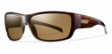 Smith Lifestyle Frontman Sunglasses Brown Stripe Carbonic Polarized Brown