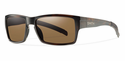 Smith Lifestyle Outlier Sunglasses Matte Tortoise Carbonic Polarized Brown
