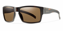 Smith Lifestyle Outlier XL Sunglasses Matte Tortoise Carbonic Polarized Brown
