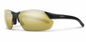 Smith Performance Parallel Max Sunglasses Matte Black Carbonic Polarized Gold Mirror