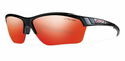 Smith Performance Approach Max Sunglasses Black Carbonic Red Sol-X Mirror