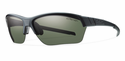 Smith Performance Approach Max Sunglasses Matte Black Carbonic Polarized Gray Green