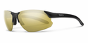 Smith Performance Parallel D Max Sunglasses Matte Black Carbonic Polarized Gold Mirror