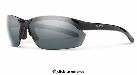 Smith Performance Parallel Max Sunglasses Black Carbonic Polarized Gray