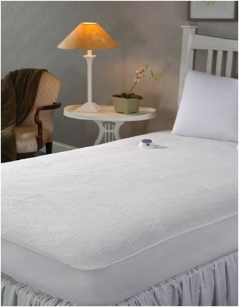 Soft Heat Low Voltage Electric Heated Full Mattress Pad By