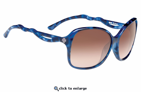 Spy Optic Fiona Blue Tort - Happy Bronze Fade