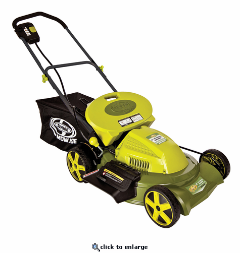 manual lawn mower with bag