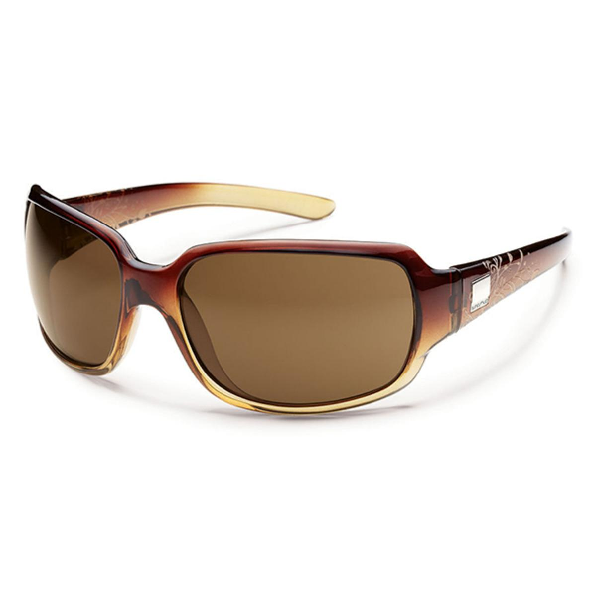 a41cd043c4 Suncloud Injection Cookie Brown Fade Laser Polarized Brown Sunglasses - The  Warming Store