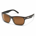 Suncloud Injection Dashboard Blackened Tortoise Polarized Brown Sunglasses